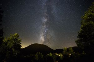 The Milky Way over Sedona, Arizona