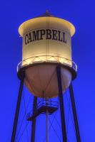 Historic Campbell Water Tower