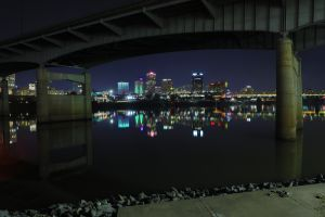 Little Rock at Night