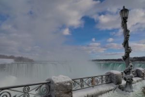 Winter at Niagara Falls