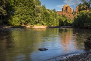 Along Oak Creek near Sedona, AZ